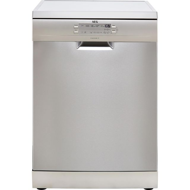 AEG FFB53600ZM Standard Dishwasher - Stainless Steel - A+++ Rated - FFB53600ZM_SS - 1