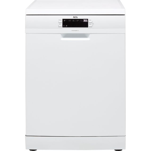 AEG FFB53940ZW Standard Dishwasher - White - A+++ Rated - FFB53940ZW_WH - 1