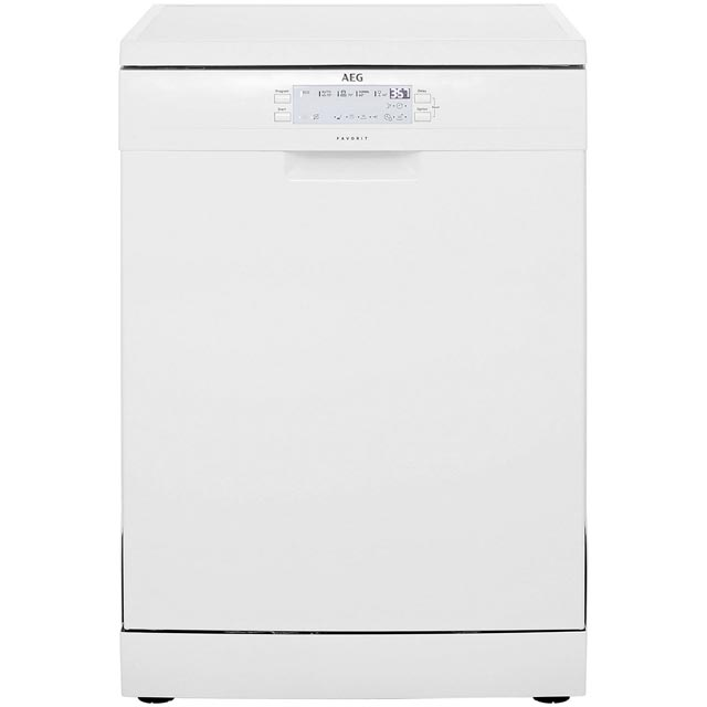 AEG FFS5260LZW Free Standing Dishwasher in White