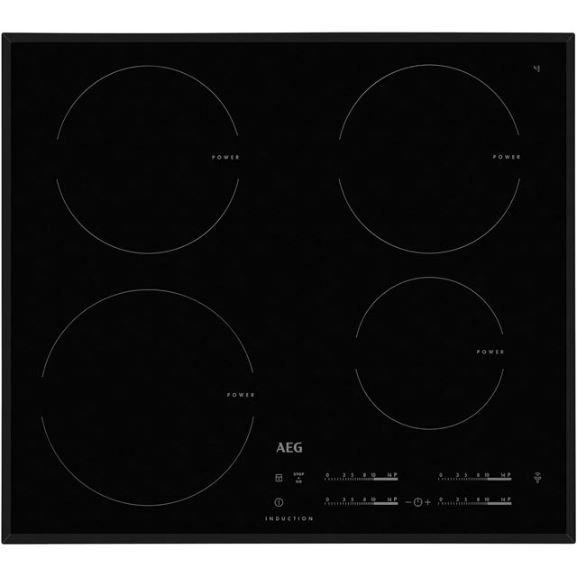 AEG HK6542H0FB 59cm Induction Hob - Black