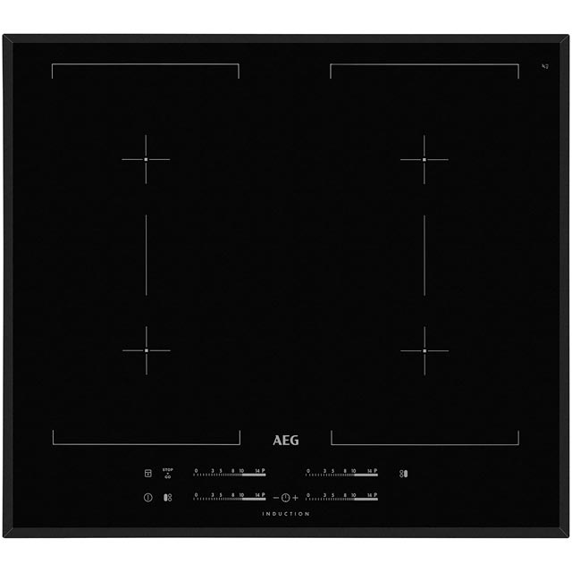 AEG HK654400FB 58cm Induction Hob - Black