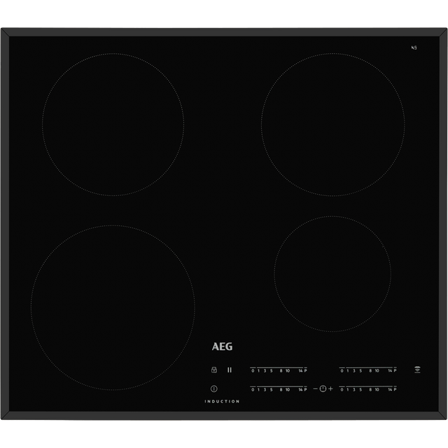 AEG IKB64401FB 59cm Induction Hob - Black - IKB64401FB_BK - 1