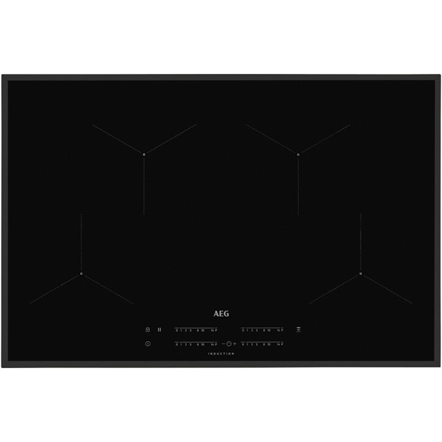 AEG IKB84431FB 78cm Induction Hob - Black - IKB84431FB_BK - 1