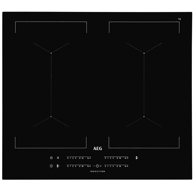 AEG IKE64450FB 59cm Induction Hob - Black - IKE64450FB_BK - 1