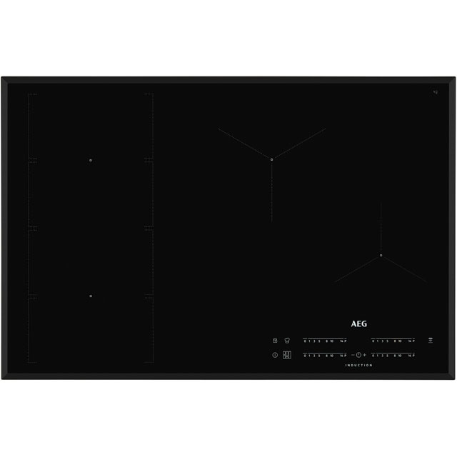 AEG IKE84471FB 78cm Induction Hob - Black - IKE84471FB_BK - 1