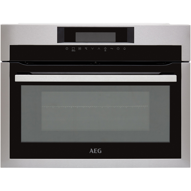 AEG Mastery KME721000M Built In Microwave With Grill - Stainless Steel - KME721000M_SS - 1
