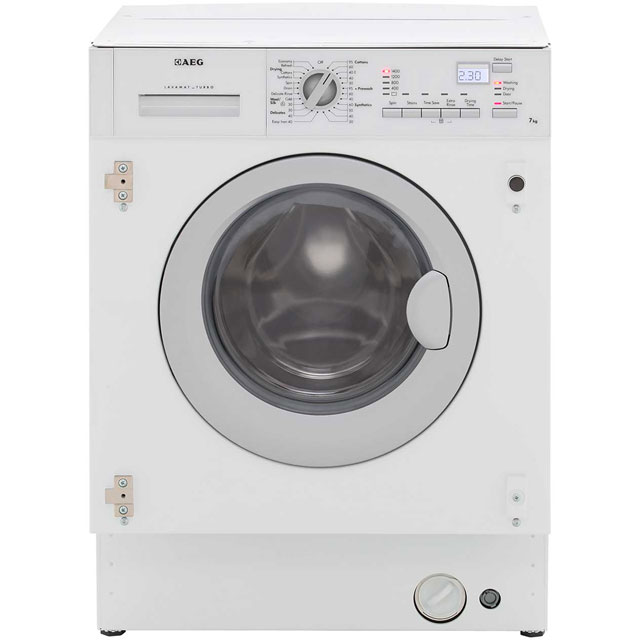 AEG L61472WDBI Integrated 7Kg / 4Kg Washer Dryer with 1400 rpm - C Rated