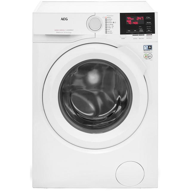 AEG ProSense Technology Free Standing Washing Machine in White