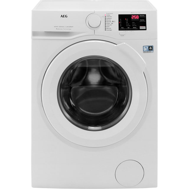 AEG ProSense Technology Free Standing Washing Machine in White