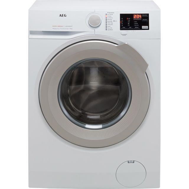 AEG ProSense Technology L6FBJ842P 8Kg Washing Machine with 1400 rpm - White - C Rated
