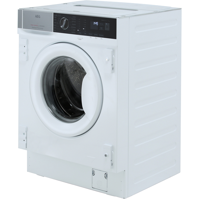 AEG ProSteam Technology L7FE7461BI Built In 7Kg Washing Machine - White - L7FE7461BI_WH - 5