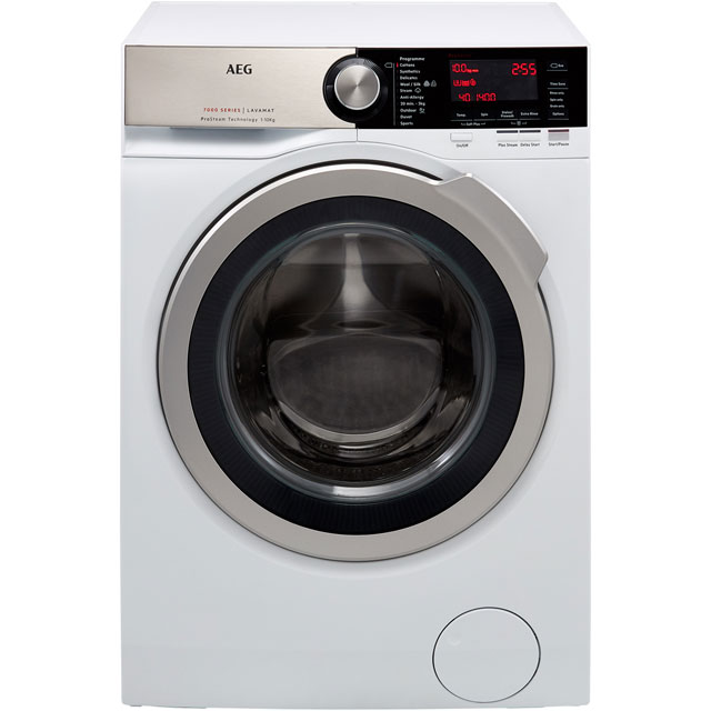 AEG ProSteam Technology 10Kg Washing Machine - White - A+++ Rated
