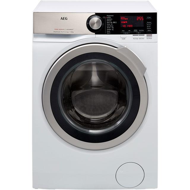 AEG ProSteam Technology L7FEC146R Free Standing Washing Machine in White