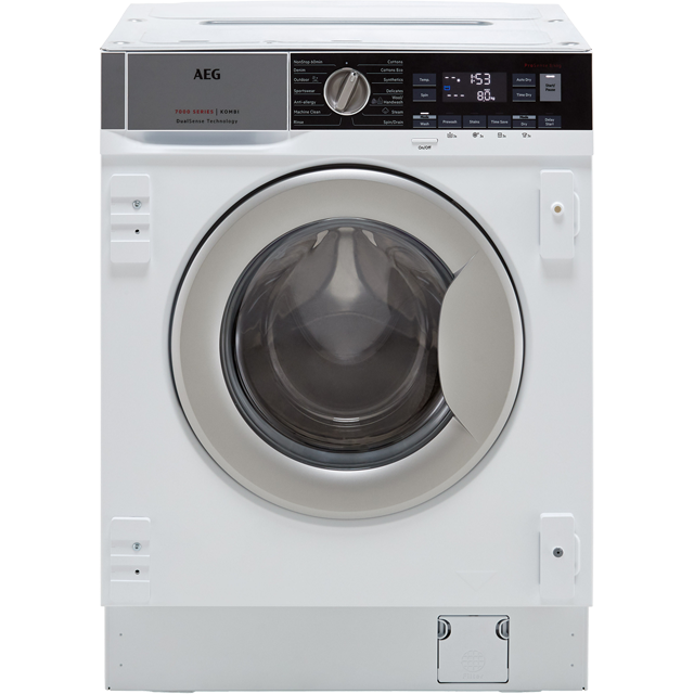 AEG L7WC8632BI Built In Washer Dryer - White - L7WC8632BI_WH - 1