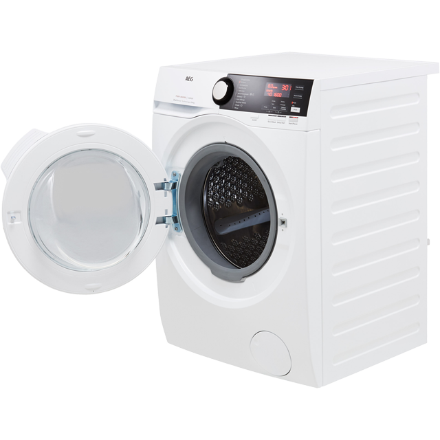AEG DualSense Technology L7WEE861R Washer Dryer - White - L7WEE861R_WH - 3