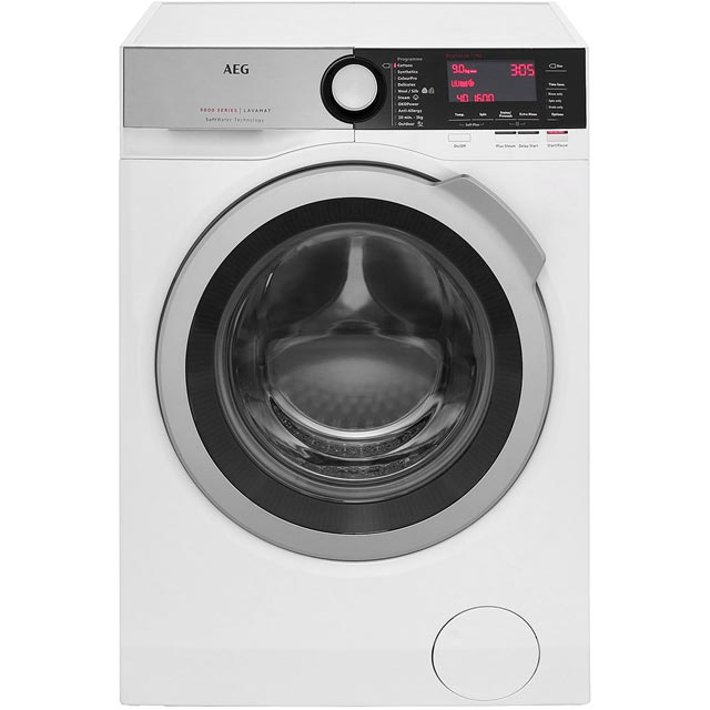 AEG Softwater Technology 9Kg Washing Machine - White - A+++ Rated
