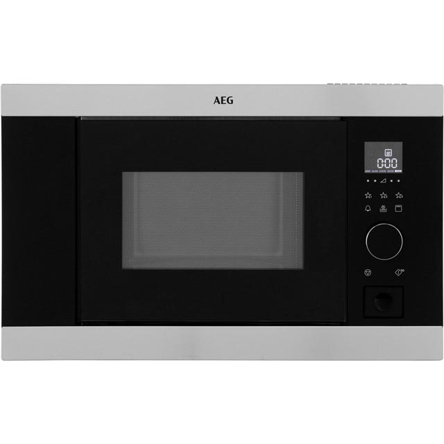 AEG Built In Microwave With Grill - Stainless Steel