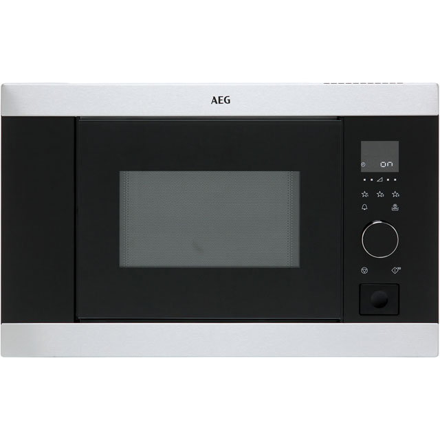 AEG MBB1756S-M Built In Microwave - Stainless Steel - MBB1756S-M_SS - 1