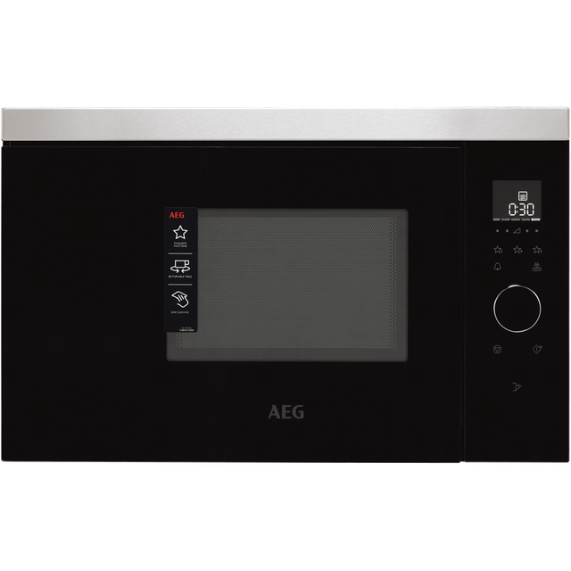 Image of AEG MBB1756SEM Built In Microwave - Stainless Steel