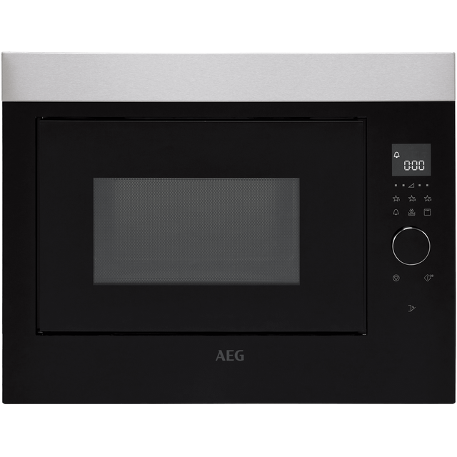 Image of AEG MBE2658DEM Built In Microwave With Grill - Black