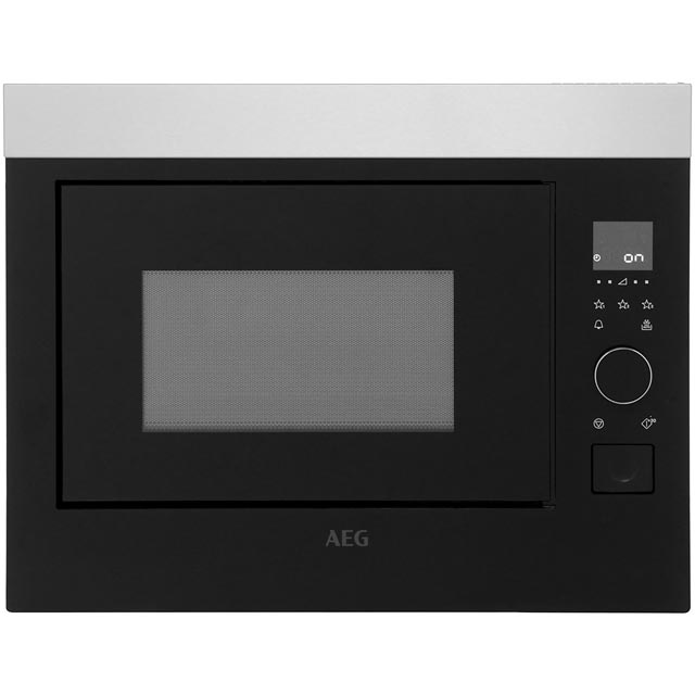 AEG MBE2658S-M Built In Microwave - Stainless Steel - MBE2658S-M_SS - 1