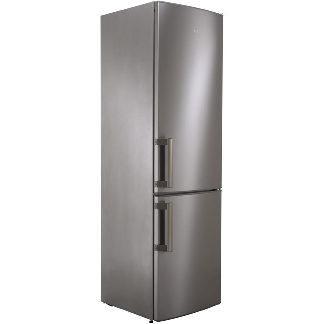 AEG RCB53725VX 60/40 Frost Free Fridge Freezer - Stainless Steel - A++ Rated - RCB53725VX_SS - 1