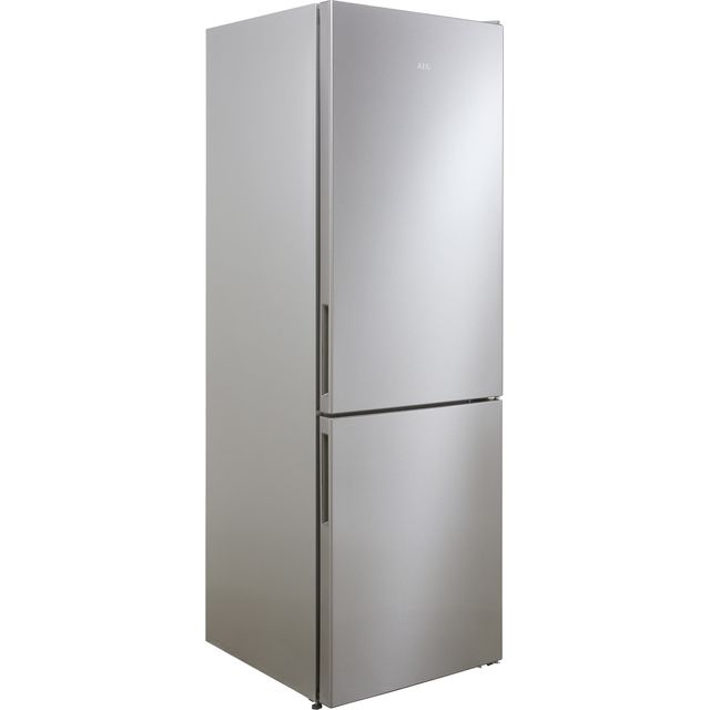 Image of AEG RCB632E4MX 60/40 Frost Free Fridge Freezer - Stainless Steel Effect - A++ Rated