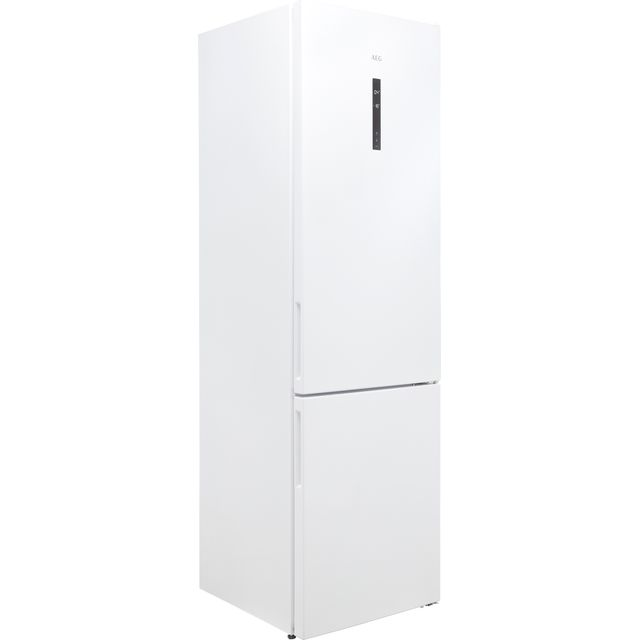 Image of AEG RCB636E5MW 60/40 Frost Free Fridge Freezer - White - A++ Rated