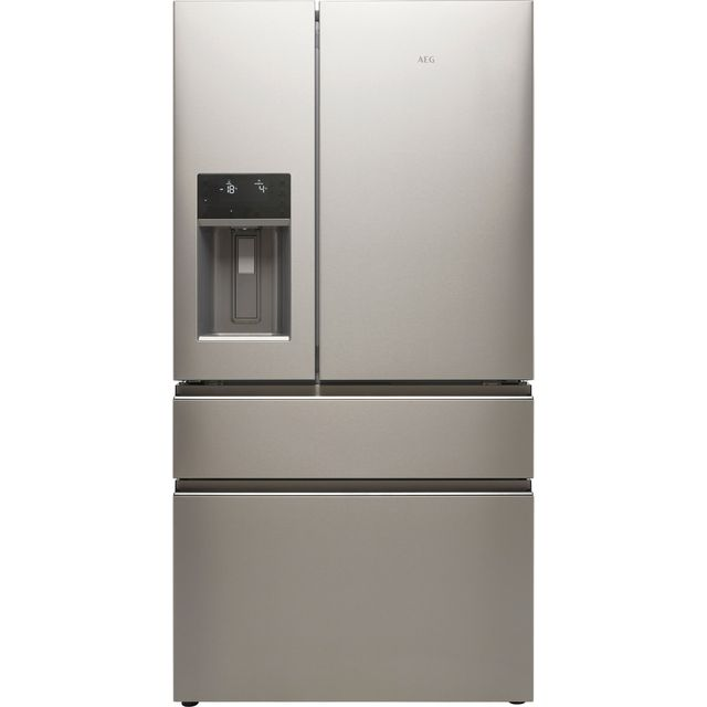 AEG RMB954F9VX American Fridge Freezer - Stainless Steel - F Rated