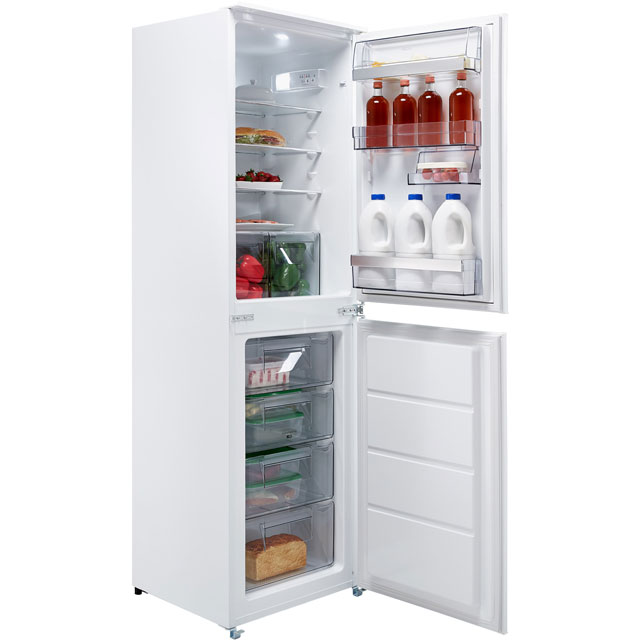 AEG SCB6181VLS Integrated 50/50 Fridge Freezer with Sliding Door Fixing Kit - White - A+ Rated - SCB6181VLS_WH - 1
