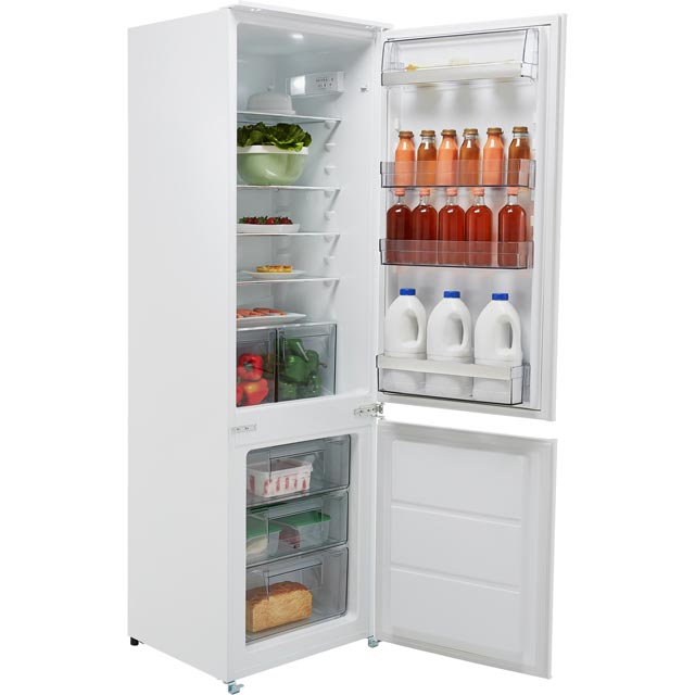 AEG SCB6181XLS Integrated 70/30 Fridge Freezer with Sliding Door Fixing Kit - White - A+ Rated - SCB6181XLS_WH - 1