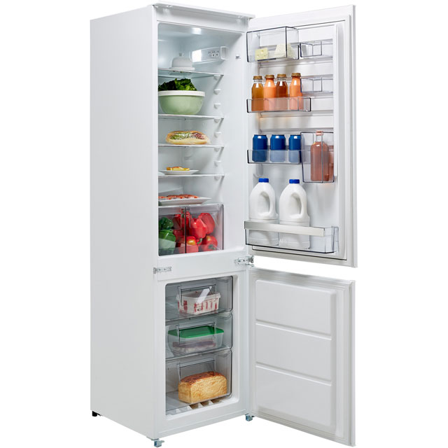 AEG SCB6182VNS Integrated 70/30 Frost Free Fridge Freezer with Sliding Door Fixing Kit - White - A++ Rated - SCB6182VNS_WH - 1