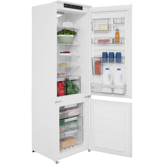 AEG SCE8182VTS Integrated 70/30 Frost Free Fridge Freezer with Sliding Door Fixing Kit