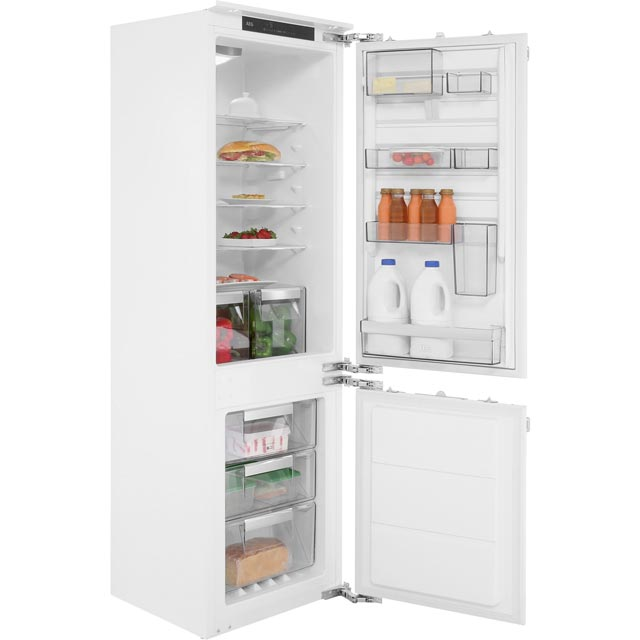 AEG Integrated 70/30 Frost Free Fridge Freezer with Fixed Door Fixing Kit - White - A+++ Rated