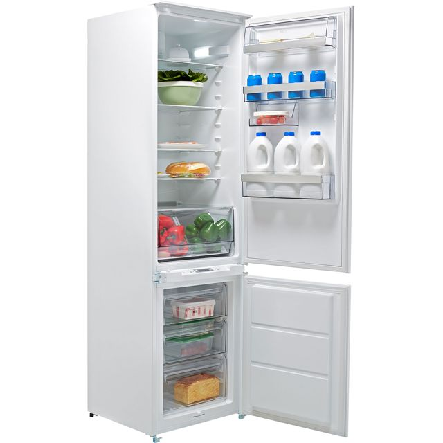 AEG SCE8191VTS Integrated 70/30 Frost Free Fridge Freezer with Sliding Door Fixing Kit - White - A+ Rated - SCE8191VTS_WH - 1