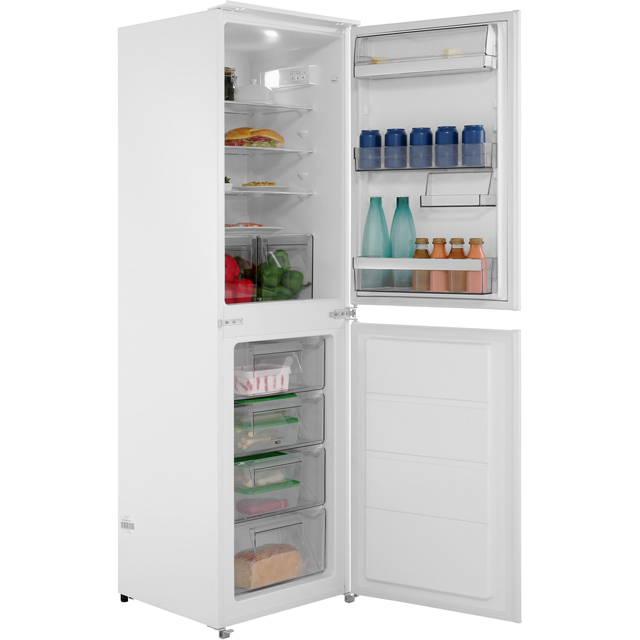 AEG Integrated 50/50 Fridge Freezer with Sliding Door Fixing Kit - White - A+ Rated