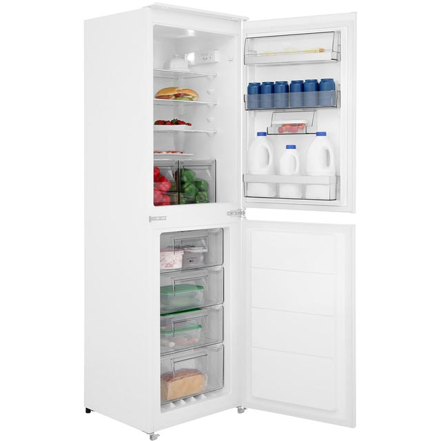 AEG SCS6181LNS Integrated 50/50 Frost Free Fridge Freezer with Sliding Door Fixing Kit - White - A+ Rated