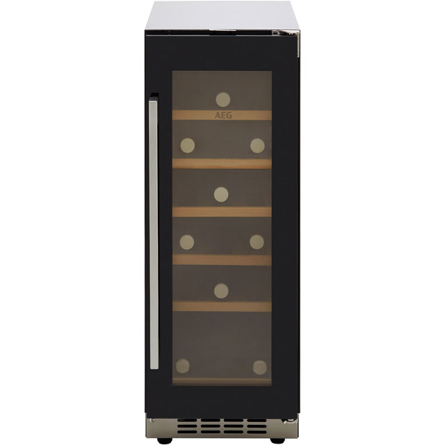 AEG SWE63001DG Built In Wine Cooler - Black Glass - A Rated - SWE63001DG_BK - 1