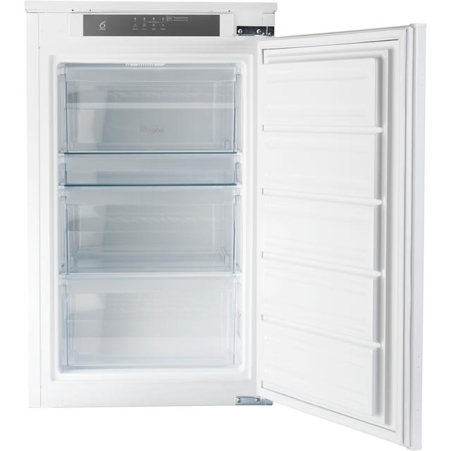 Whirlpool AFB100/A+SF.1 Integrated Upright Freezer with Sliding Door Fixing Kit - A+ Rated