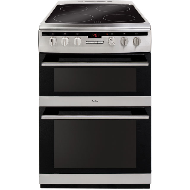 Image of Amica Free Standing Cooker in Stainless Steel