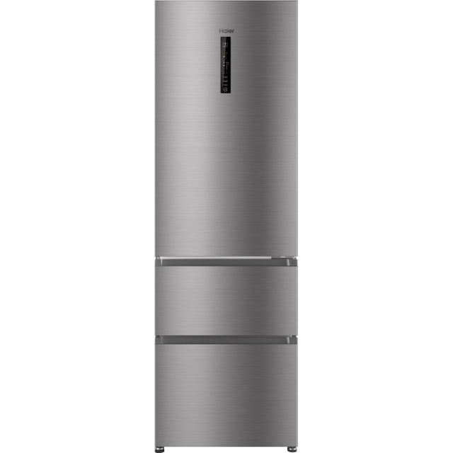 Haier AFE635CHJ 60/40 Frost Free Fridge Freezer - Silver - A+ Rated