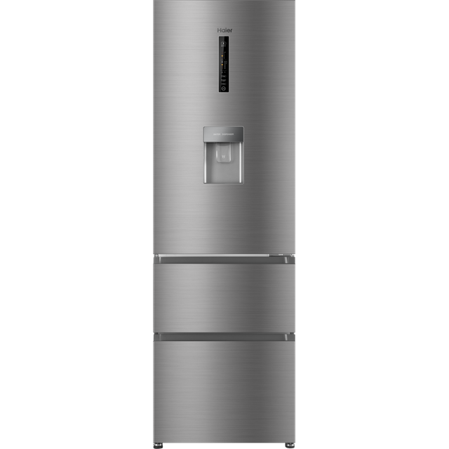 Haier AFE635CHJW 60/40 Frost Free Fridge Freezer - Silver - A+ Rated