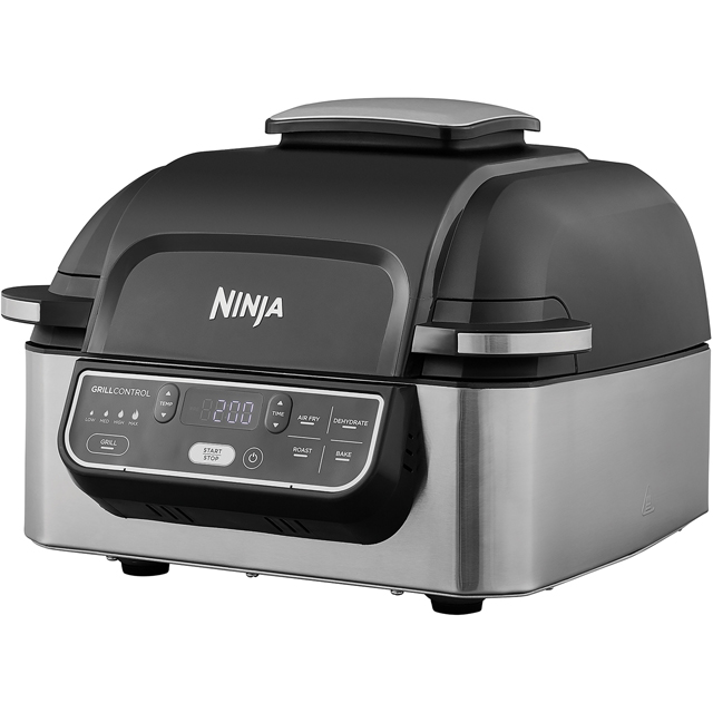 Ninja Health Grill & Air Fryer AG301UK Fryer - Black - AG301UK_BK - 1