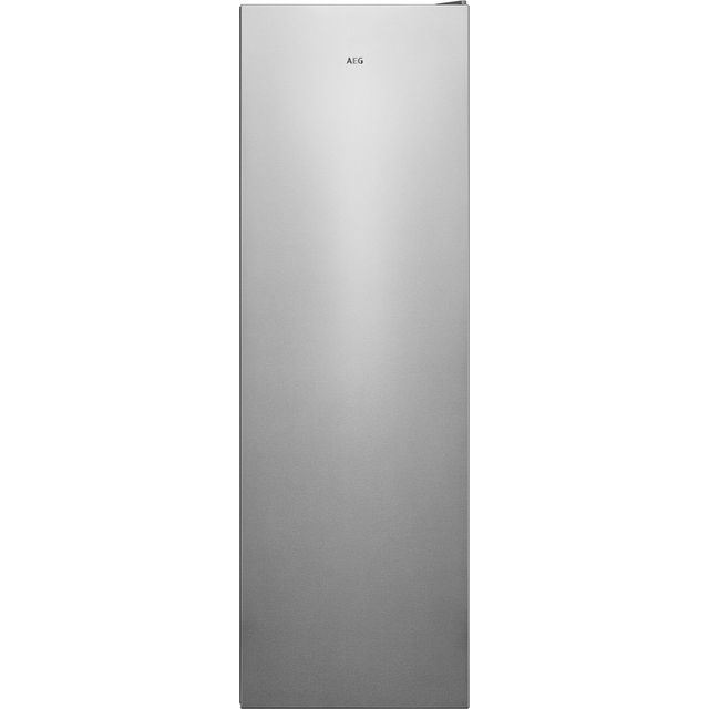 Image of AEG AGB728E1NX Frost Free Upright Freezer - Silver - A++ Rated