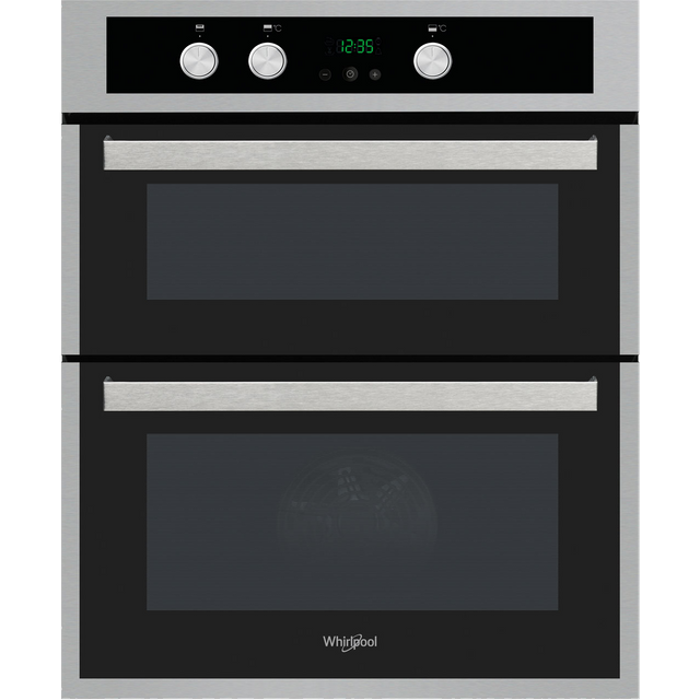 Whirlpool AKL307IX Built Under Double Oven With Feet - Stainless Steel - A/A Rated - AKL307IX_SS - 1