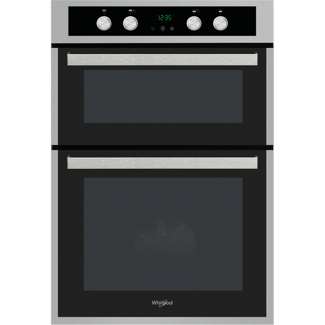 Whirlpool AKL309IX Built In Electric Double Oven - Stainless Steel - A/A Rated