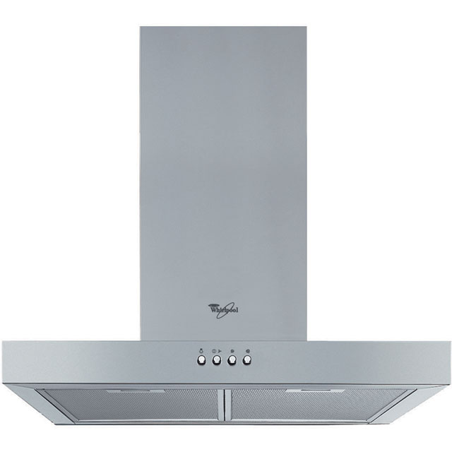 Whirlpool AKR558/2UKIX 60 cm Chimney Cooker Hood - Stainless Steel - E Rated - AKR558/2UKIX_SS - 1