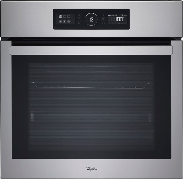 Whirlpool AKZ6220IX Built In Electric Single Oven - Stainless Steel - A+ Rated
