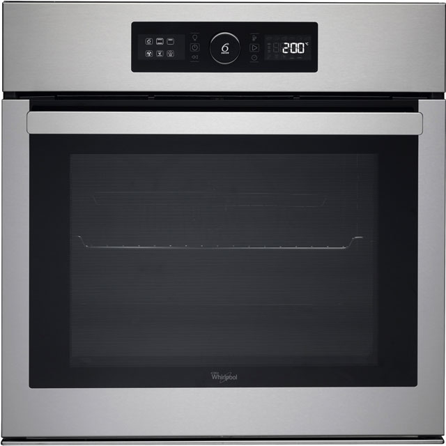 Whirlpool AKZ6270IX Built In Electric Single Oven - Stainless Steel - A+ Rated - AKZ6270IX_SS - 1
