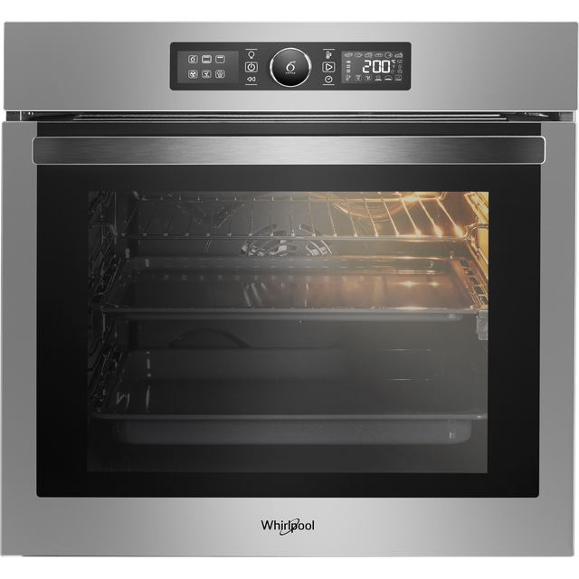 Whirlpool Absolute AKZ96220IX Built In Electric Single Oven - Stainless Steel - A+ Rated - AKZ96220IX_SS - 1